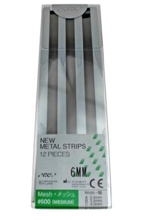 An image of Metal Strips Green Mesh (Finishing) 12 X No 600