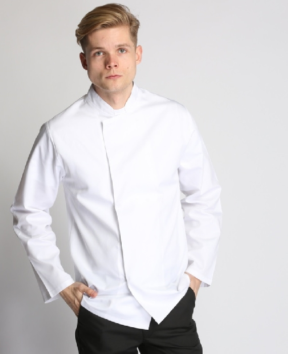 An image of CHEFS JACKET WHITE SIZE SMALL