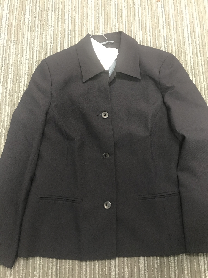 An image of SHORT JACKET NAVY SIZE 12