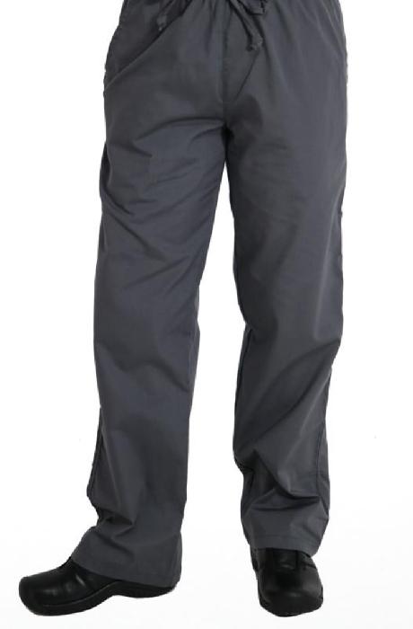 An image of Men's Elastic-Waist Pants Steel S