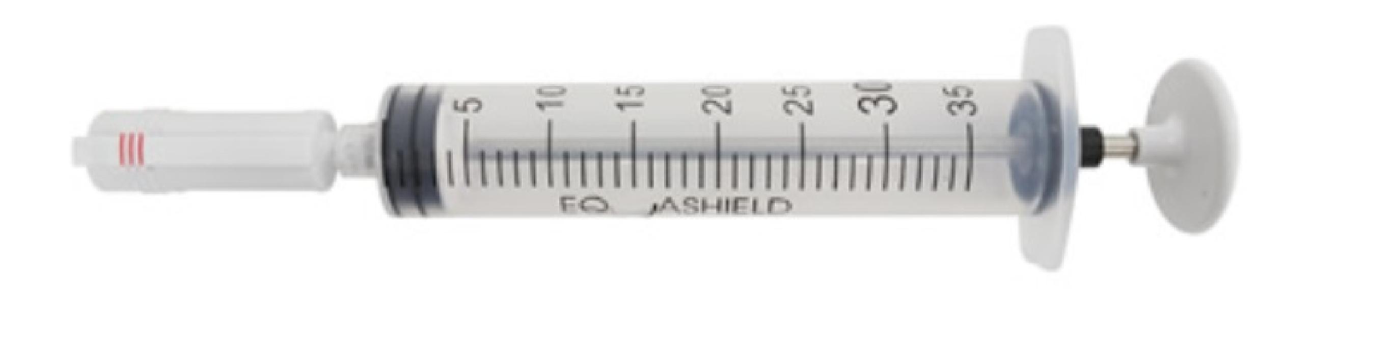 An image of (1x50) Equashield 35ml Syringe Unit