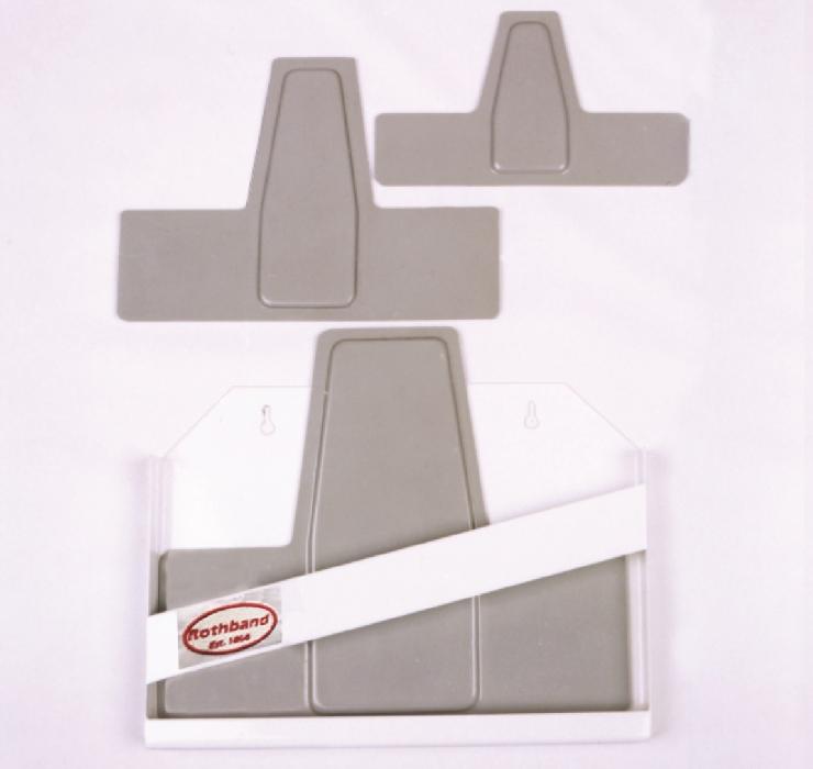 An image of T-Shaped Gonad Shields - Wall Rack