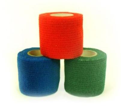 An image of Vetwrap Elastic Cohesive Bandage (10)