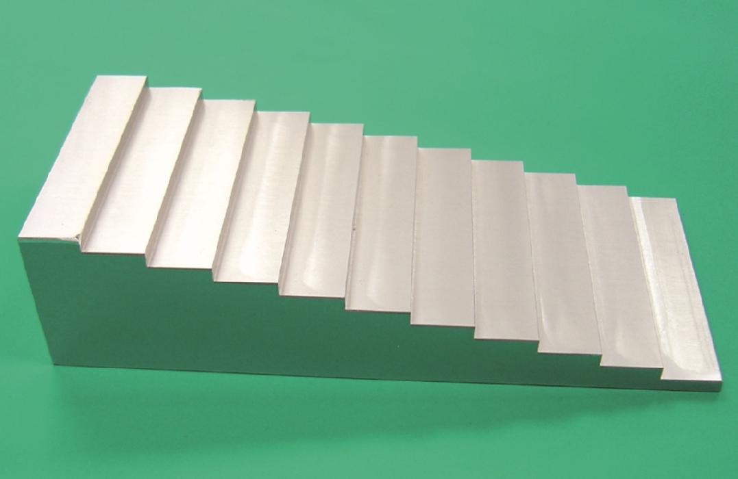 An image of Radiographic Aluminium Stepwedge