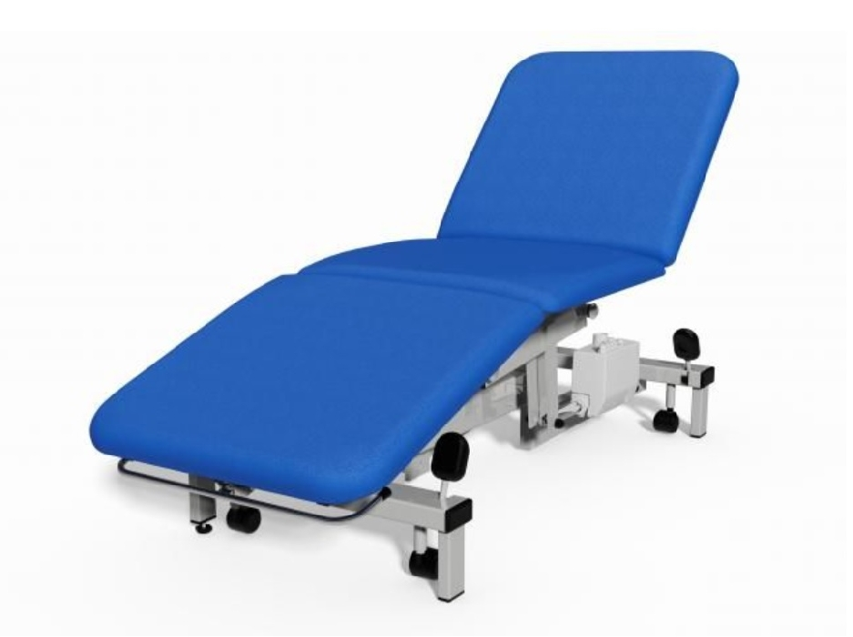 An image of Plinth 2000 Model 503 Electric 3 Section Examination Couch