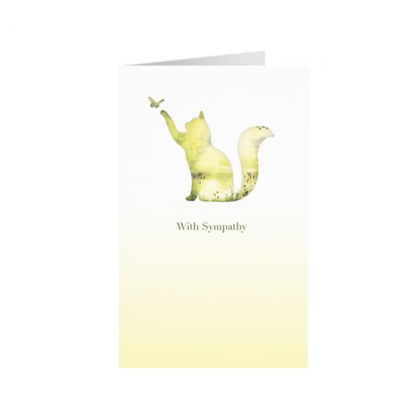 An image of Meadow Cat Sympathy Cards (25)