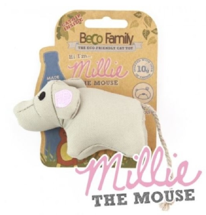 An image of Beco Catnip Toy - Mouse (1)