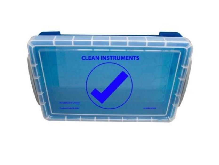 An image of InstruBox Instrument Transport Box BLUE