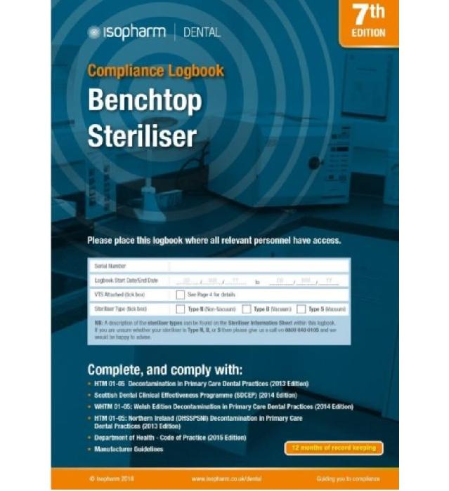 An image of Benchtop Steriliser Compliance Logbook