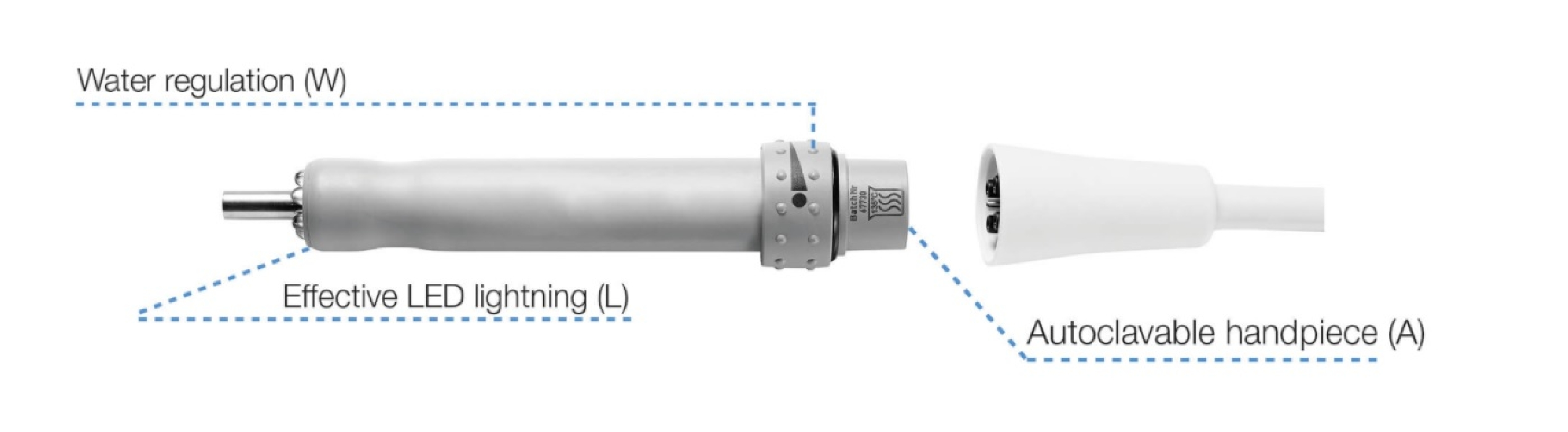An image of LM ProPower Handpiece Ultra LED without Water Control