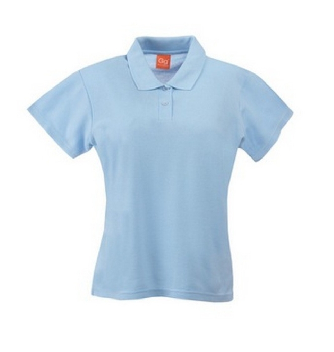 An image of POLO SHIRT LIGHT BLUE(SKY) SIZE SMALL