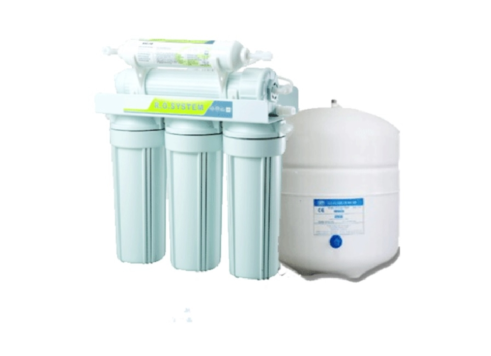 An image of Five stage Reverse Osmosis water filter system