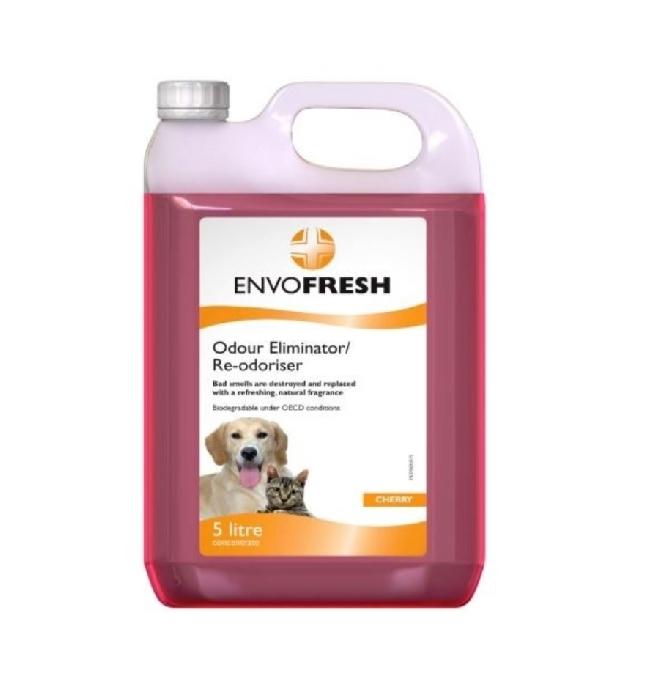 An image of Envofresh Conc. Odour Eliminator Cherry 5L