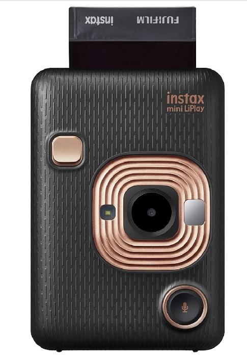 An image of Instax LiPlay HM1 Elegent Black W/O Film