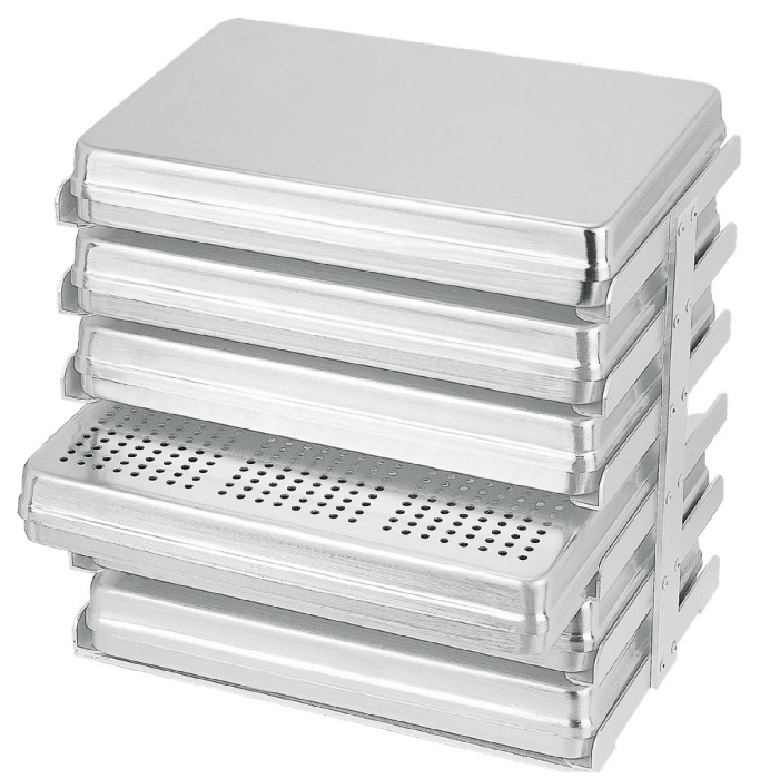 An image of Instrument Tray rack - holds 6 tray