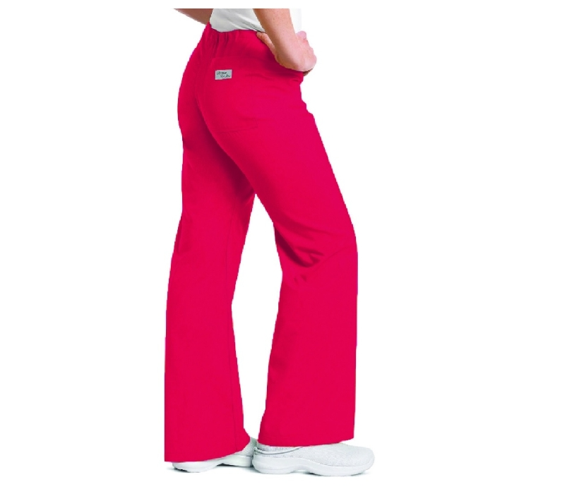 An image of Relaxed Drawstring Pant True Red L