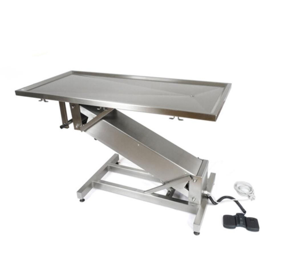 An image of Purfect M/S Table Electric Flat Top & Z Frame 130 x 60cm