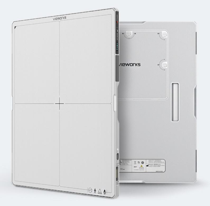 "An image of VIVIX-S 3643VAW 14""x17"" Flat Panel Detector (wireless) CSL"
