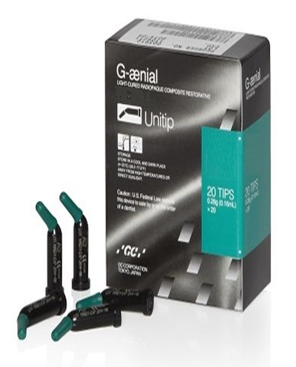 An image of GC G-AENIAL UNITIP - 1 Pack Of 20