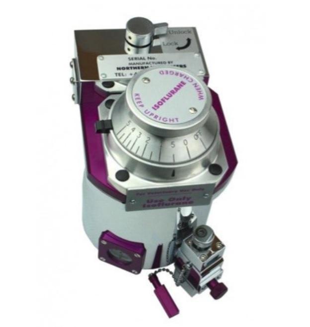 An image of New Tec3 Vaporiser( Isoflurane/Cagemount/Key fill)