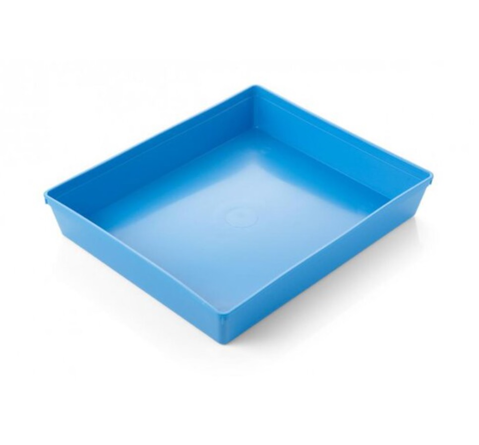 An image of Blue Tray - 30 x 25 x 5cm