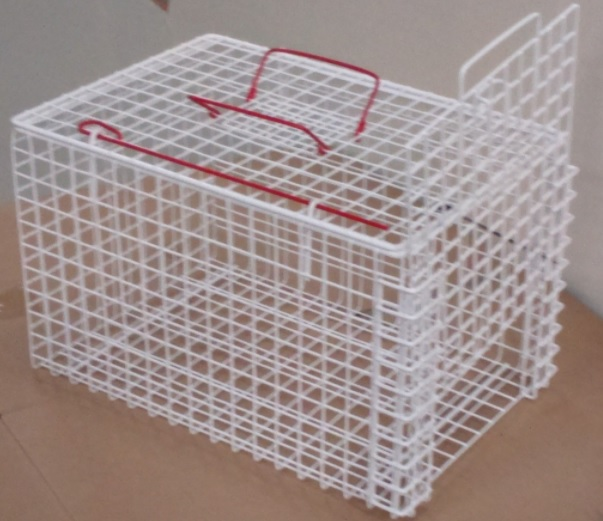 An image of Cat Basket Extra Strong. End Opening (45.7x30.5x30.5cm)