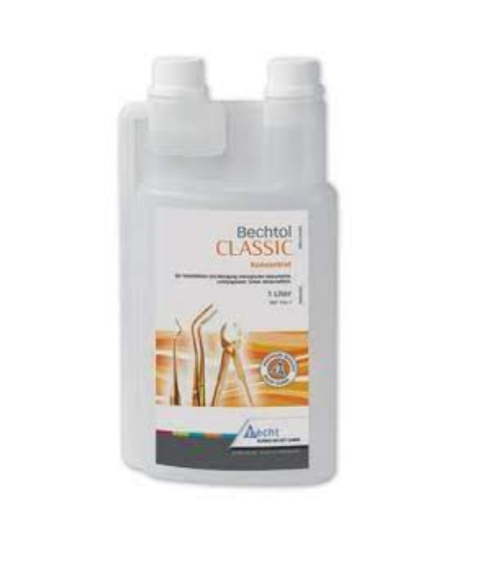 An image of Bechtol Classic Concentrate 1 Litre Instrument Disinfection (Reusable Bottle)