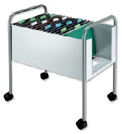 An image of Film Filing Trolley With 3 Baskets