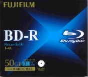 An image of BLU RAY DISC BD-R JEWEL CASE(50GB1-4X)5PACK