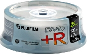 An image of FUJI DVD+R 25PK ON SPINDLE
