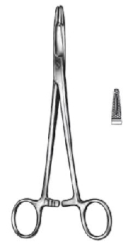 An image of OLSEN-HEGAR Needleholder 18cm TC