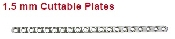 An image of 1.5 mm Cuttable Plates