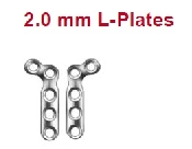 An image of 2.0 mm L-Plates