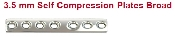 An image of 3.5 mm Self Compression Plates - Broad
