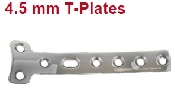 An image of 4.5 mm T-Plates