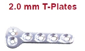 An image of 2.0 mm T-Plates