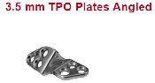 An image of 3.5 mm TPLO Plates - Angled