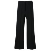 An image of BOOT CUT PANTS BLACK SIZE 34 REGULAR