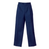 An image of MENS TROUSER NAVY (GRT2025 30R)