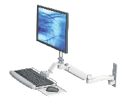An image of Ultra 180 LCD Monitor and Keyboard Wall Mount