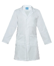 An image of UNISEX LAB COAT WHITE