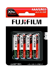 An image of Fujifilm Xtra Power Battery AAA x 4 Hang Pack