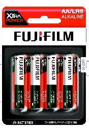 An image of Fujifilm Xtra Power Battery AA x 4 Hang Pack