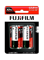 An image of Fujifilm Xtra Power Battery C x 2 Hang Pack