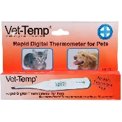 An image of Vet-Temp Rapid Digital Rectal Thermometer (Fahrenheit)