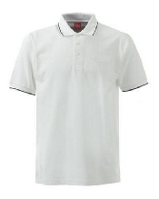 An image of XSS6 Unisex Poloshirt W/N Tipped ISCP logo (ISCP014XS)