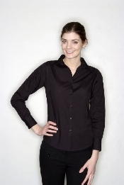 An image of PR300 Ladies Long Sleeved Shirt S (12) (ISCP025S)
