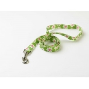 An image of Dog Leads - Green Daisy