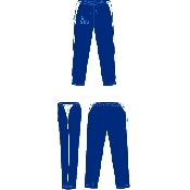 An image of G-Force Unisex Track Pants Navy ISCP Logo (ISCP209S)