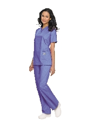 An image of Unisex Scrub Top (SCRUBZONE)